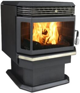 US Stove 5660 Bay Front Pellet
